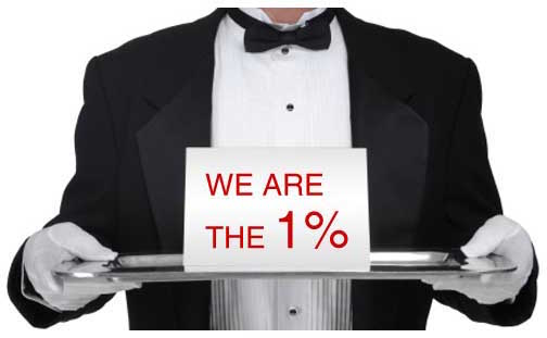 We are the 1%