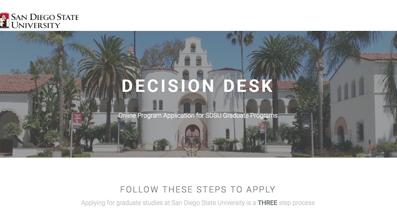 link to SDSU Decision Desk