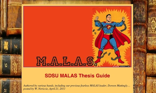 malas                         thesis guide